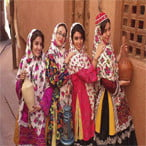 Abyaneh local costume - Kashan city sightseeing tour