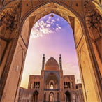 Agha Bozorg Mosque - Iran top attractions
