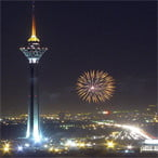 Milad Tower in Tehran