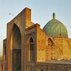 Qazvin Jame mosque - Silk Road tour
