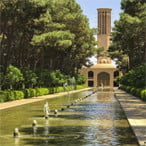 Dowlatabad Garden in Yazd - Iran 9-day tour