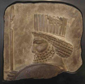 Achaemenid soldier bas-relief