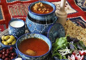 Iranian Food Dizi