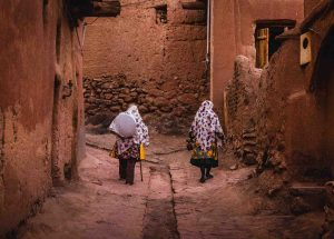 Abyaneh locals