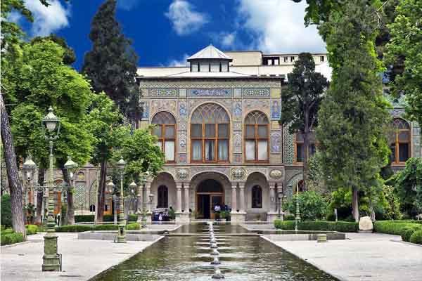 Golestan Palace - UNESCO site in Iran