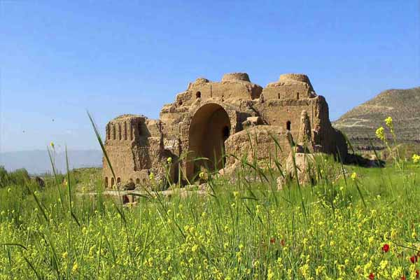 Sassanid archaeological landscape of Fars region - UNESCO site in Iran
