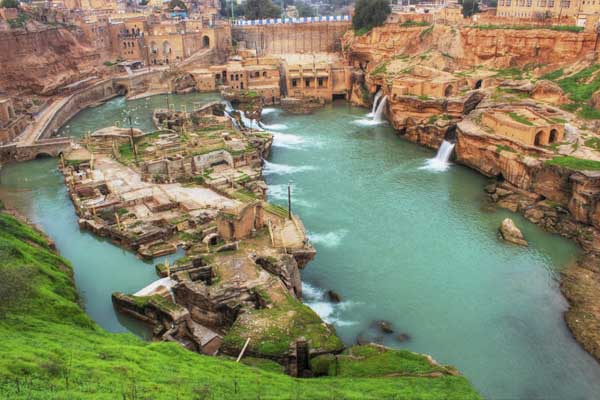 Shushtar Historical Hydraulic System - UNESCO site in Iran