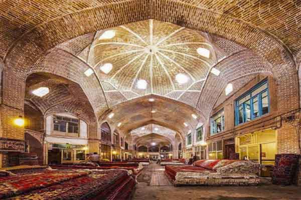 Tabriz Historic Bazaar Complex - UNESCO site in Iran