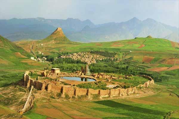 Takht-e Soleyman - UNESCO site in Iran