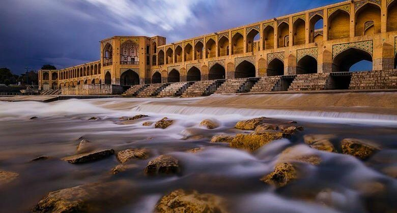 Khaju Bridge - Isfahan - Letsvisitpersia travel