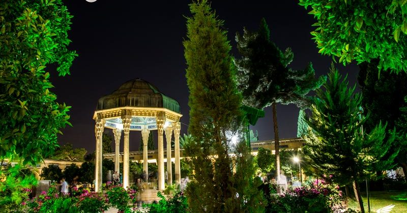 Tomb of Hafez in Shiraz - letsvisitpersia day tour