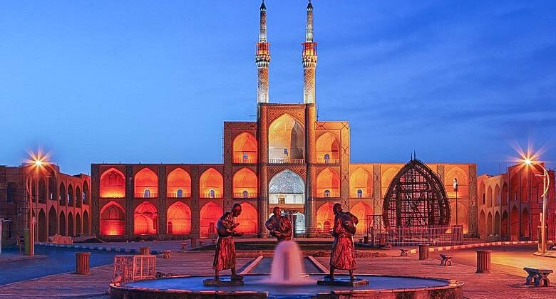 Amir Chakhmaq - Complex - Letsvisitpersia Tour and Travel