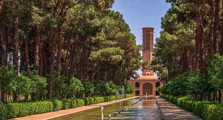 Dowlat Abad Garden - Yazd - Letsvisitpersia Tour Company