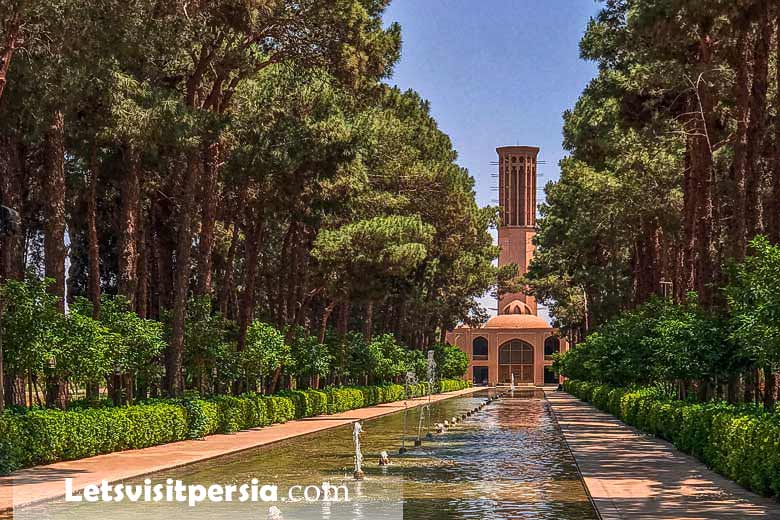 Dowlat Abad Garden - Yazd - Letsvisitpersia Tour Company