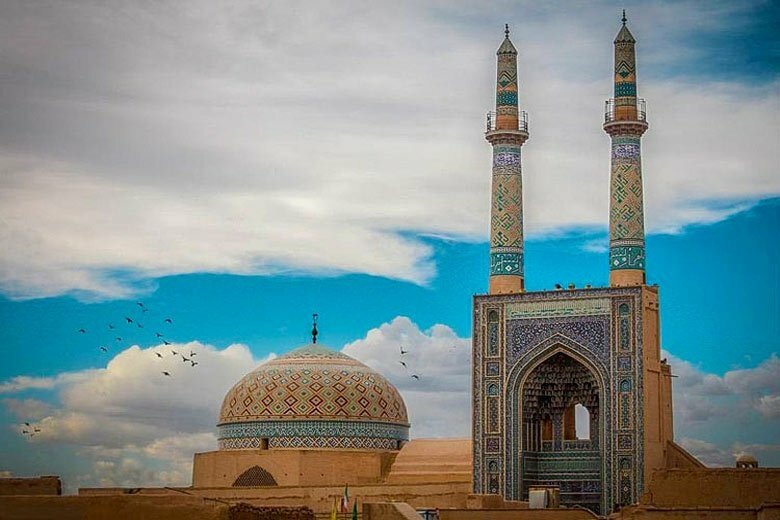 Jame Mosque of Yazd - Iran Tour Package
