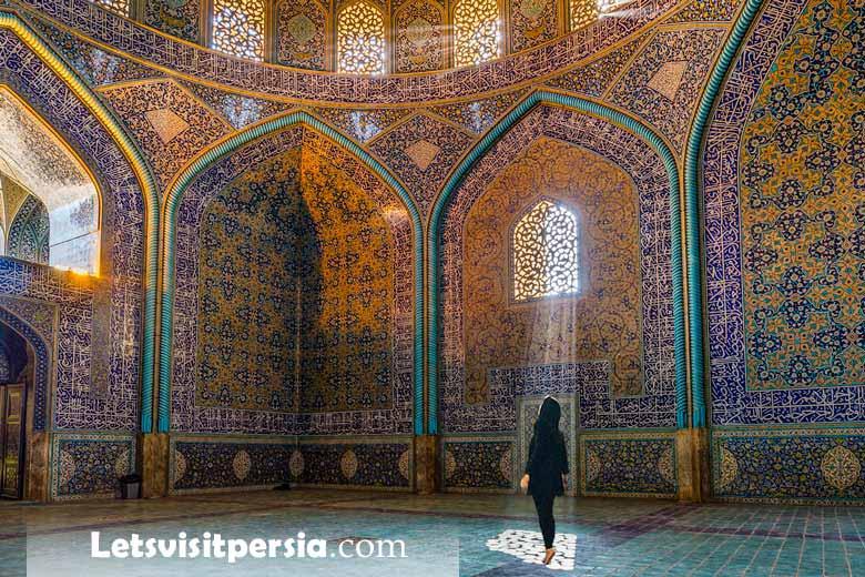 Sheikh Lotfollah mosque - Esfahan - Iran Tour
