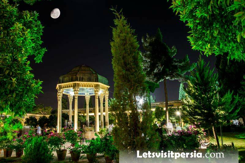 Tomb of Hafez - Shiraz - letsvisitpersia