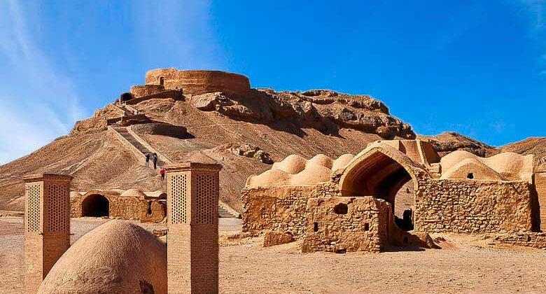 Zoroastrian Towers of silence - Dakhmeh - Letsvisitpersia Travel company