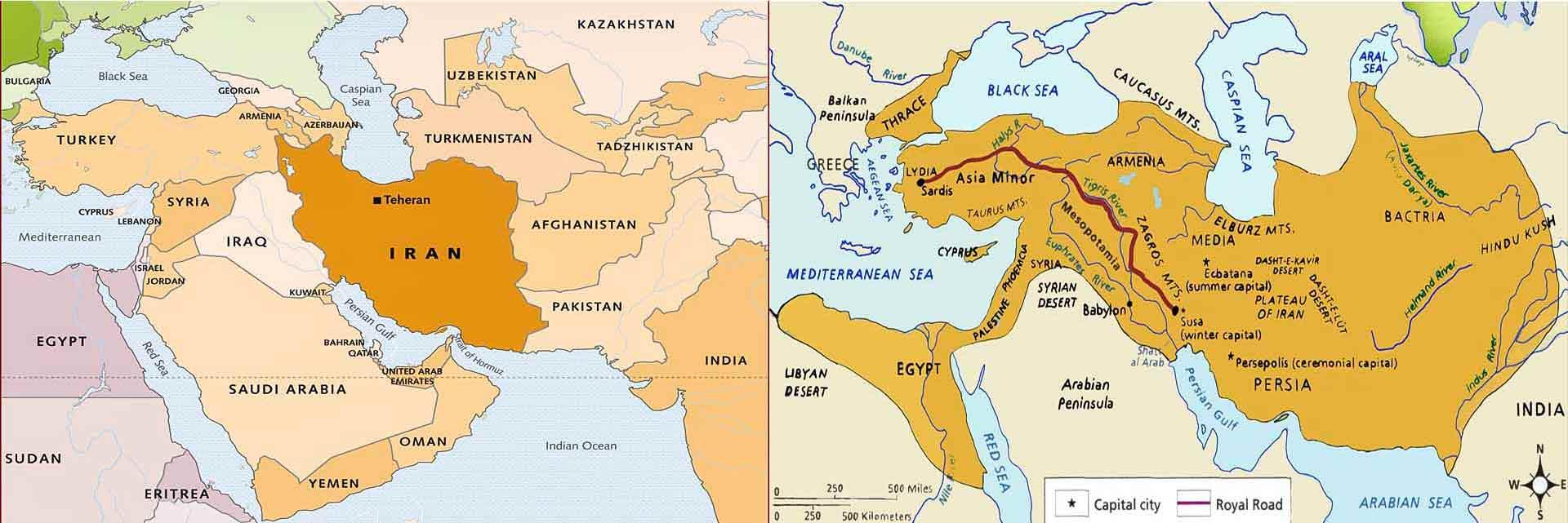 Iran vs Persia
