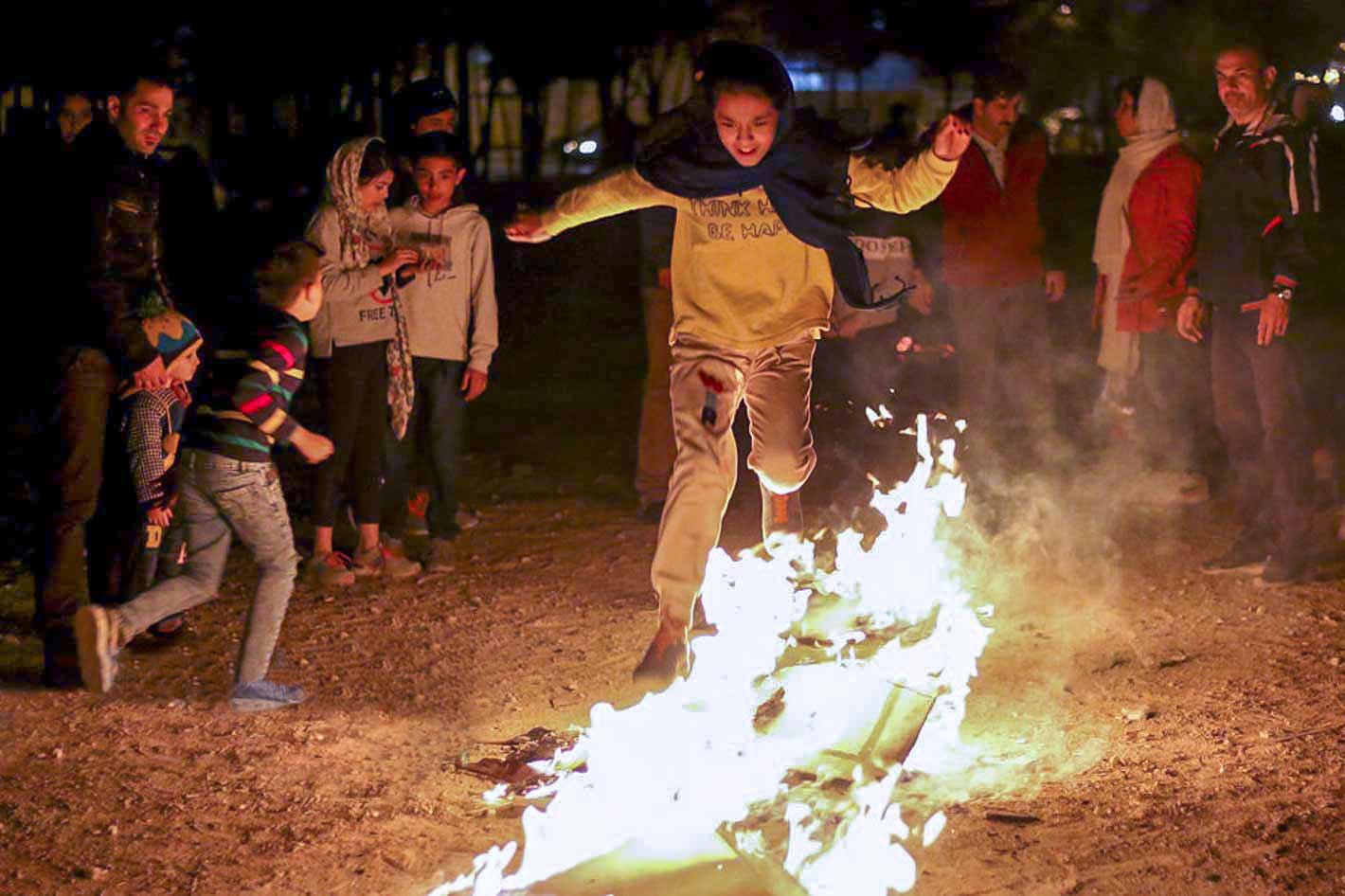 chaharshanbe suri - festival of fire