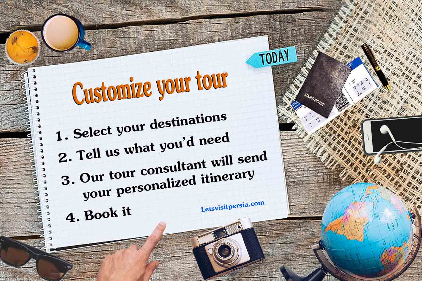 iran custom tour-customize your tour