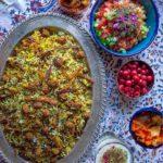 Kalam Polo Shirazi Salad