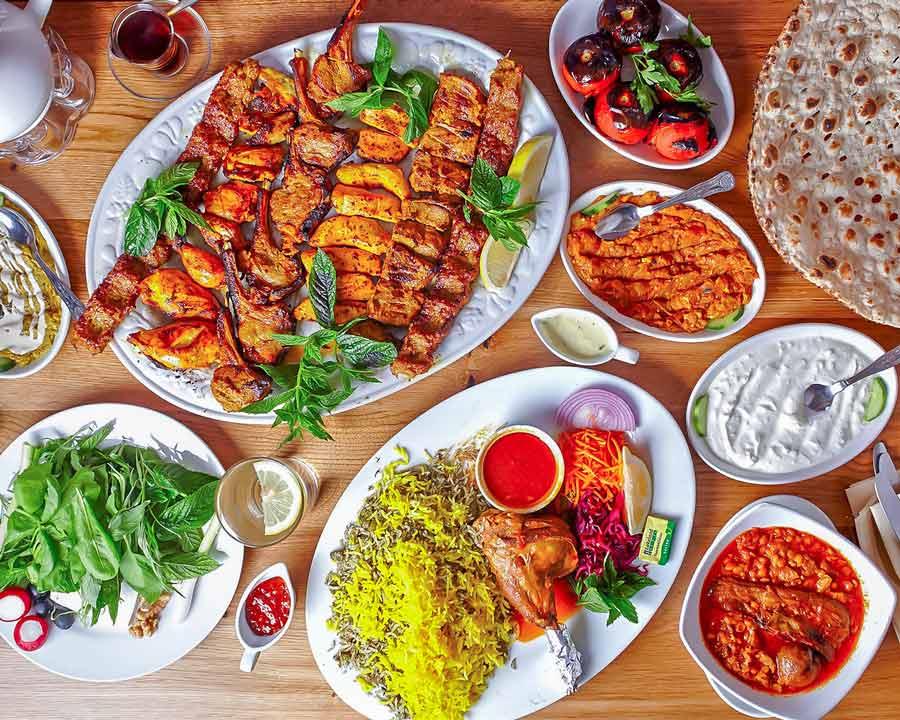 Iranian food - Kebab