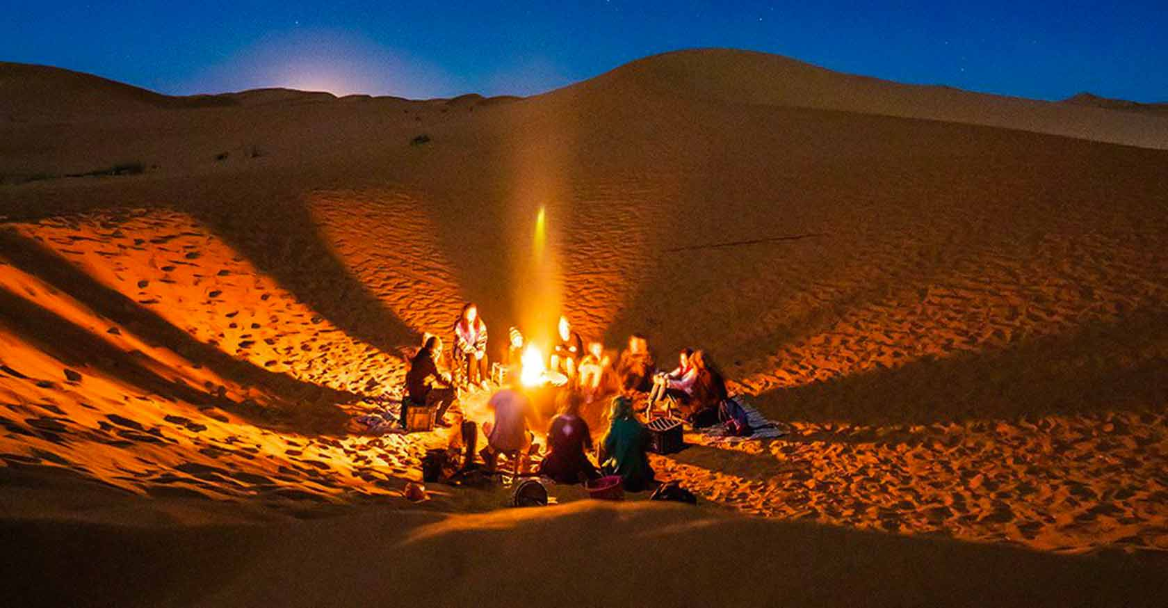 Varzaneh desert camp by Letsvisitpersia