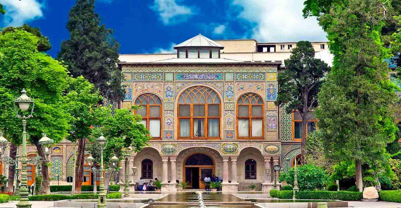 golestan palace tehran iran