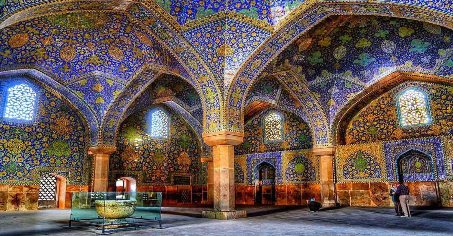 jame mosque of isfahan esfahan iran