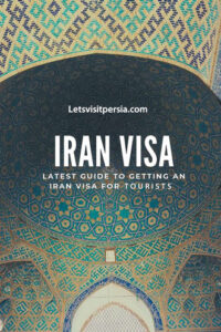 Getting iran visa for tourists