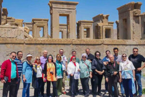 travel to Iran with a group